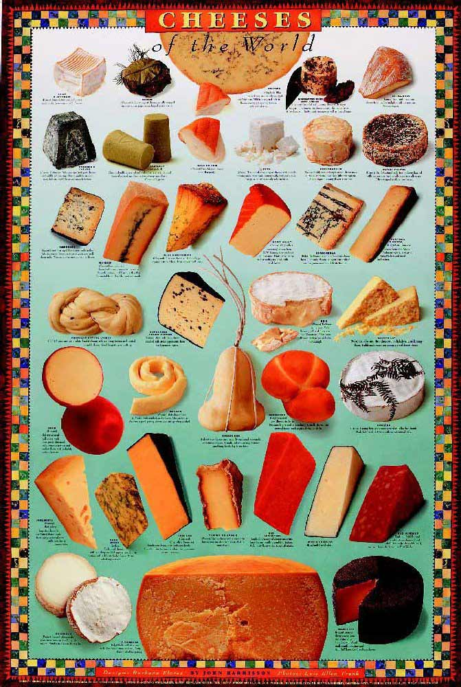 Lists of cheeses