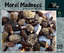 Green Gift - Morel Mushrooms Jigsaw Puzzle